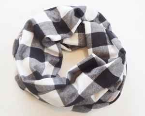 Flannel scarf by SakatahColors $24